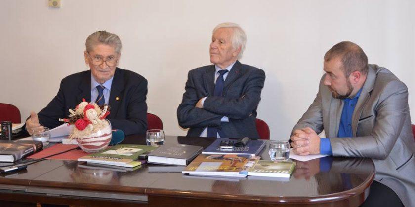 Acad. Eugen Simion în vizită la Institutul de Cultură